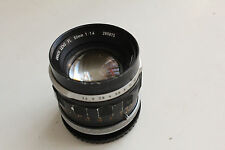Objectif Canon FL 50mm f: 1,4