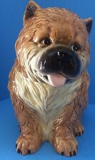 "NEW "" CHOW CHOW PUPPY"" Cookie Jar by Westland Giftware NO.PD721 Box Not included"