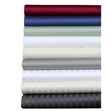 Glorious Bedding Sheet Set 4 PCs OR 6 PCs Organic Cotton US Twin Size All Color