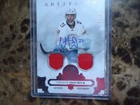 2017-18 ARTIFACTS AUTO VINCENT TROCHECK FLORIDA PANTHERS DUAL JERSY 61/99