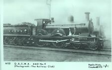Pamlin repro photo postcard M152 Glasgow & South Western Railway 4-4-0 No.11