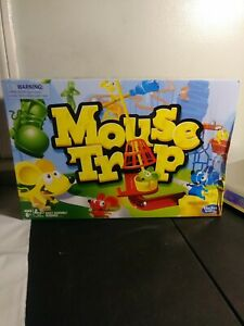 Hasbro Gaming Mouse Trap Game Classic Kids Board Game Ages 6+ New Damaged Box