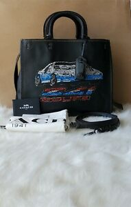 Coach Car Embellished Rogue Code F58151