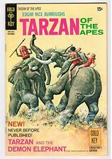 Gold Key TARZAN OF THE APES #197 - VG 1970 Vintage Comic
