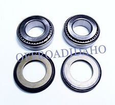 STEERING STEM HEAD BEARING SEAL KIT HD HARLEY FXDF FXEF FAT BOB, FXSTSB BAD BOY