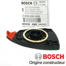 plateau de ponçage Bosch 2609006896 pour PSM200AES