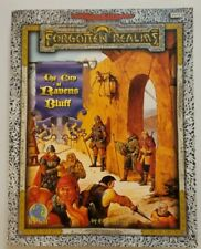 AD&D Forgotten Realms THE CITY OF RAVENS BLUFF w/Map TSR 9575