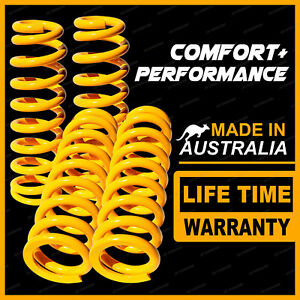 Front + Rear Standard Height King Coil Springs for FORD CORTINA TE TF 6CYL SEDAN