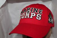 U.S. Marine Corps Bulldogs Top Of The World NCAA Team Work Snapback,Cap,Hat  RED