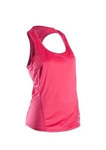 Sugoi Jackie Singlet Running Tank Women's Size Medium Bright Rose NEW