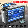7'' 2Din Touch Screen Car MP5 Player bluetooth Stereo FM Radio Head Unit