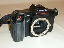 MINOLTA 5000AF BODY ONLY WITH STRAP