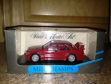 Minichamps Mercedes 190 E Evo 2 Street Signal Red 1:43 Ultra Rare Find*