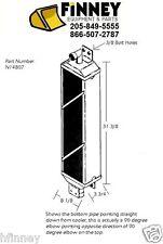 N14807 Case 1150E 1155E 1150G 1150H NEW Hydraulic oil cooler dozer 3/8