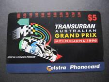 AUSTRALIA TELSTRA PHONECARD TRANSURBAN GRAND PRIX MELBOURNE 1996