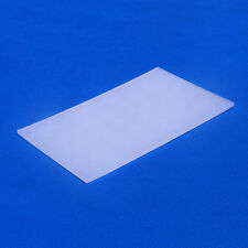 Back Adhesive Clear Non Slip Anti-slipping Pad Mat Silicone,L 125mm X W 80mm