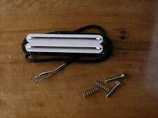 Artec Hot Rail Blade Strat PU sba73c-wh Alnico V White Chrome RAILS 11k Bucker!