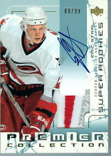 2003-04 UD PREMIER ERIC STAAL 9/99 4 COLOUR PATCH AUTO 1 OF ONLY 2 MADE BEST RC!