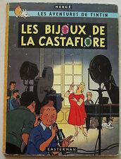 Tintin Les Bijoux de la Castafiore HERGE éd Casterman rééd B 36 1966