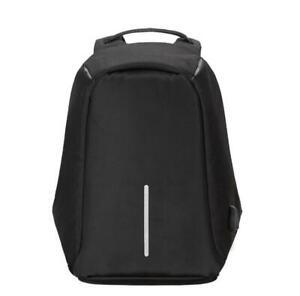 Sac à Dos Noir Anti-Vol Homme Prise Charge USB Résistant Imperméable Anti-Choc