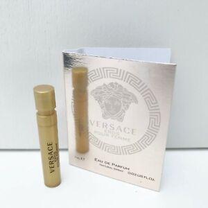 VERSACE Eros Pour Femme Eau de Parfum mini Spray, 1ml, Brand New!!