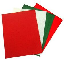 Christmas Felt Square 4 pack (23cm x 30cm)