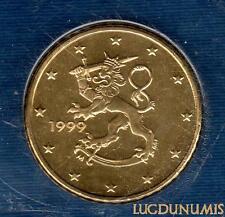 Finlande - 1999 - 50 centimes d'euro sous scéllé provenat coffret BU