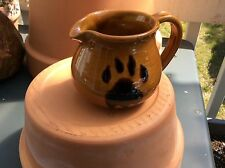 Kazuri Hand made ceramic coffee creamer pitcher Made in Kenya