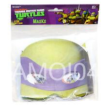 Teenage Mutant Ninja Turtles Kids Boys Birthday 8 Masks Costume New