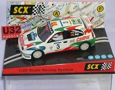 FN SCALEXTRIC SCX 6042 TOYOTA COROLLA WRC #3 CASTROL CARLOS SAINZ-LUIS MOYA  MB