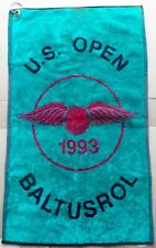 New listing 1993 U.S. OPEN  BALTUSROL -- 24 inches  x 15 inches -- SPORTS GOLF TOWEL tb
