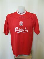 FC Liverpool 2002/2003/2004 home Size XL Reebok football shirt jersey soccer