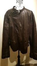 DKNY Mens Leather Jacket