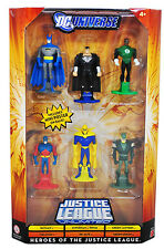 DC UNIVERSE HEROES OF THE JUSTICE LEAGUE 6-PACK ATOM DR. FATE GREEN ARROW  +