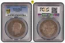 1937 Great Britain Crown Proof Silver Coin PCGS PR64 Gold Shield Cert No35130386