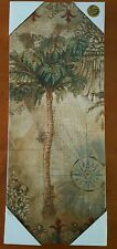 """REAL CANVAS Palm Tree CANVAS Wall Decor Picture 20""""x 8"""""""