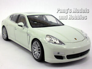 Porsche Panamera S 1/24 Scale Diecast Metal Model by Welly - WHITE