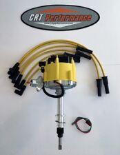 NEW Jeep AMC GM HEI Distributor & Plug wires CJ5 CJ7 YJ 258 - DROP IN READY