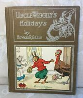Uncle Wiggily Book Uncle Wiggly's Holidays 1924 by Howard Garis