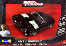 1971 Plymouth GTX Fast & Furious Dom 2'N1 in 1:24 Model Kit Bausatz Revell 4477