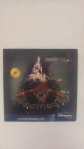 CD 2 titres Need Magic EDDA024-2 Disneyland Paris