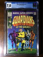 Marvel Super-Heroes #18 (1969) - 1st Guardians of the Galaxy! - CGC 7.0!!!