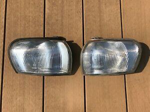 JDM Subaru Impreza GC8 GF8 GC GF Clear Winkers Corners Lights Lamps Set OEM