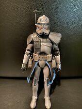 Custom Star Wars Black Series Carbonized Captain Rex
