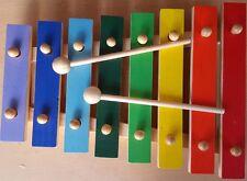 GOKI Metall-Xylophon mit 15 bunten Tonplatten HOLZSPIELZEUG 61998