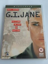 G.I. Jane (DVD, 2001)(JD20) DVD WITH NO SCRATCHES FREE POST
