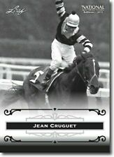"JEAN CRUGUET 2012 LEAF ""EXCLUSIVE"" COLLECTORS HALL OF FAME PROMO CARD! LEGEND!"