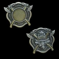 911 Never Forget 343 Firefighter Engraveable Challenge Coin GIFT PIN UP TUN