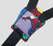 Spiderman Fabric Buckle Strap Car Seat Pram Highchair Harness Cover Belt Pad NEW