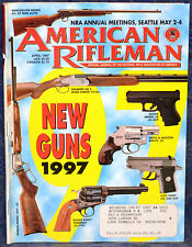 Magazine American Rifleman, APRIL 1997 !!! BSA 240 Magnum PISTOL !!!